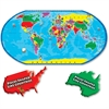 A Broader View Floor Puzzle - Theme/Subject: Learning - Skill Learning: Countries, Landmark, Animal Name - 80 Pieces