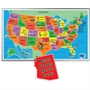 A Broader View Floor Puzzle - Theme/Subject: Learning - Skill Learning: States & Capitals, Landmark - 55 Pieces