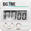 Ashley Big Time Digital Timer - Desktop - For Sports - White, Black