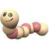 BeginAgain Earthworm Wooden Toy - Skill Learning: Grasping