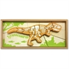 BeginAgain Jigsaw Puzzle - Theme/Subject: Learning - Skill Learning: Problem Solving, Fine Motor, Spatial Relation, Skeleton - 19 Pieces