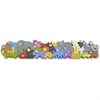 BeginAgain Floor Puzzle - Theme/Subject: Animal, Learning - Skill Learning: Fine Motor, Problem Solving, Animal Alphabet, Story Telling, Uppercase Letters, Lowercase Letters - 26 Pieces