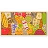 BeginAgain Jigsaw Puzzle - Theme/Subject: Learning, Fun, Kitchen, Food - Skill Learning: Alphabet, Letter - 26 Pieces