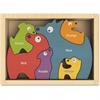 BeginAgain Jigsaw Puzzle - Theme/Subject: Learning, Fun - Skill Learning: Motor Skills, Imagination, Language, Problem Solving, Color - 6 Pieces