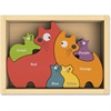 BeginAgain Jigsaw Puzzle - Theme/Subject: Learning, Fun - Skill Learning: Color, Motor Skills, Imagination, Language, Problem Solving - 6 Pieces