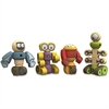 BeginAgain Tinker Totter Robots Playset - Skill Learning: Thinking, Problem Solving - 28 Pieces