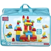 Mega Bloks Deluxe Building Blocks Bag - Skill Learning: Building, Exploration, Shape, Color, Creativity - 145 Pieces