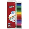 RoseArt Supertip Washable Markers - Assorted - 50 / Pack