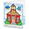 "Scholastic My Homework Folder - Letter - 8 1/2"" x 11"" Sheet Size - 2 Pocket(s) - Plastic - Multi-colored - 1 Book"