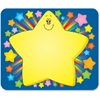 "Carson-Dellosa Grades PreK-5 Rainbow Star Name Tags - 40 Label(s)"" - 3"" Width x 2.50"" Length - Rectangle - Multicolor - 1 Each"