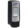 Purell ADX-7 Dispenser Push-Style Dispenser for Hand Sanitizer - Manual - 23.7 fl oz (700 mL) - Chrome Black