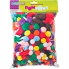 Creativity Street Pom Pons Class Pack - 300 / Set - Assorted