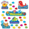 Trend Sea Buddies Coll. Welcome Bulletin Board Set - 42 Fish - 47 Piece