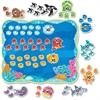 """Trend Sea Buddies Coll. 0-120 Bulletin Board Set - 25.50"""" Height x 30.25"""" Width - 133 Piece"""