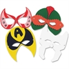 "Roylco R52097 Super Hero Masks (2014) - 7.5""9.5"" - 24 - Assorted - Card Stock"