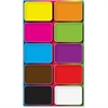Ashley Colors Design Mini Whiteboard Erasers - Lightweight, Comfortable Grip - Multicolor - 10 / Pack