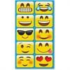 Ashley Emojis Mini Whiteboard Erasers - Lightweight, Comfortable Grip - Multicolor - 10 / Pack
