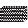 "Ashley B/W Dots Design Index Card Holder - For Index Card 4"" x 6"" Sheet - Polka Dot Design - Multi - Polypropylene - 5 / Pack"