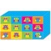"Ashley Colorful Owls Index Card Holder - For Index Card 4"" x 6"" Sheet - Colorful Owls Design - Multi - Polypropylene - 5 / Pack"