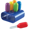 Learning Resources Primary Science Jumbo Eyedroppers with Stand - Theme/Subject: Fun, Learning - Skill Learning: Science, Science Experiment, Cause & Effect, Fine Motor