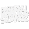 """Roylco R52020 Collage Letters - 26 Alphabet - Sturdy - 9"""" Height - 26 / Pack"""
