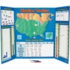 Learning Resources Kid Learning Chart - Theme/Subject: Learning - Skill Learning: Weather, Geography, Wind - 8+