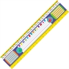 "Trend Gr 2-3 Desk Toppers Reference Name Plates - 3.75"" Height x 18"" Width - Multicolor - 36 / Pack"