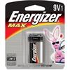 Energizer MAX Alkaline 9-Volt Battery - 595 mAh - 9V - Alkaline - 9 V DC - 1 / Pack