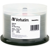 Verbatim DVD-R 4.7GB 16X DataLifePlus Shiny Silver Silk Screen Printable - 50pk Spindle
