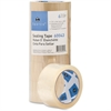 "Sparco Strong General Purpose Sealing Tape - 1.88"" Width x 54.60 yd Length - 3"" Core - Pressure-sensitive Poly - 2 mil - 6 / Pack - Clear"