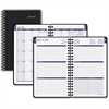 "At-A-Glance Collegiate Monthly Appointment Book - Julian - Monthly, Weekly - 1.1 Year - July till July - 7:00 AM to 6:00 PM - 1 Week, 1 Month Double Page Layout - 4.88"" x 8"" - Black"