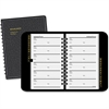 At-A-Glance Telephone and Address Book - Wire Bound - Leather - Recycled - 1 Each