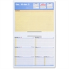 "At-A-Glance Flip-A-Week Desk Calendar Refill - Weekly - 1 Year - January 2017 till December 2017 - 1 Week Double Page Layout - 5.62"" x 7"" - Desktop - Yellow, Blue, Red"