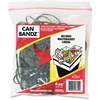 "Alliance Rubber Can Bandz - 7"" Length x 0.12"" Width - 50 / Pack - Black"