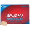 "Alliance Advantage Rubber Bands, #62 - Size: #62 - 2.50"" Length x 0.25"" Width - 1 / Box - Natural"