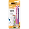 BIC Velocity Pencil - #2 Lead Degree (Hardness) - 0.7 mm Lead Diameter - Refillable - 2 / Pack