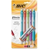 BIC Velocity Pencil - #2 Lead Degree (Hardness) - 0.9 mm Lead Diameter - Refillable - 5 / Pack