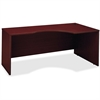"Bush Business Furniture Series C 72W Right Hand Corner Module - 71"" x 35.5"" x 29.8"" - Material: Melamine, Pressboard, Engineered Wood, Wood - Finish: Mahogany, Thermofused Laminate (TFL)"