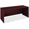 "Bush Business Furniture Series C 72W Desk Shell - 71"" x 29.4"" x 29.8"" - Material: Melamine, Polyvinyl Chloride (PVC), Pressboard, Engineered Wood, Wood - Finish: Mahogany, Thermofused Laminate (TFL)"