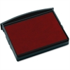 "COSCO Self-Inking Stamp Replacement Pad - 5 / Box - 1.9"" Width x 1.8"" Depth - Red Ink"
