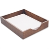 Carver Hedberg Letter Size Desk Tray - Desktop - Walnut - Oak - 1Each