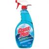 Diversey Glass Plus Trigger Sprayer - Spray - 0.25 gal (32 fl oz) - 1 Each - Blue