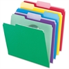 "Pendaflex File Folder With Infopocket - Letter - 8 1/2"" x 11"" Sheet Size - 1/3 Tab Cut - Assorted Position Tab Location - Assorted - 30 / Pack"