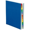 Pendaflex A-Z Desk File/Sorter - 20 Printed Tab(s) - Character - A-Z - Blue Divider - Multicolor Mylar Tab(s) - 1 Each