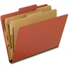 "Pendaflex Pressboard Classification Folder - Letter - 8 1/2"" x 11"" Sheet Size - 2"" Expansion - 4 Fastener(s) - 2"" Fastener Capacity for Folder, 1"" Fastener Capacity for Divider - 2/5 Tab Cut - 2 Divid"