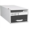 "Pendaflex Standard Storage File - External Dimensions: 24"" Width x 9.3"" Depth x 6.4"" Height - Stackable - White - For Form - 1 Each"