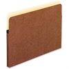 "Pendaflex Standard Expanding Vertical File Pocket - Letter - 8 1/2"" x 11"" Sheet Size - 1 3/4"" Expansion - Manila, Red Fiber - Recycled"