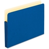 "Pendaflex Expanding File Pocket - 3 1/2"" Folder Capacity - Letter - 8 1/2"" x 11"" Sheet Size - 3 1/2"" Expansion - Manila - Blue - 1 Each"