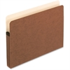 "Pendaflex Expanding File Pocket - Letter - 8 1/2"" x 11"" Sheet Size - 3 1/2"" Expansion - Manila, Red Fiber - Recycled"