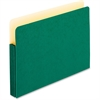 "Pendaflex Colored Expanding File Pocket - 3 1/2"" Folder Capacity - Legal - 8 1/2"" x 14"" Sheet Size - 3 1/2"" Expansion - Manila - Green - 1 Each"